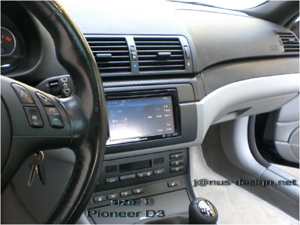 e46 double din install instructions